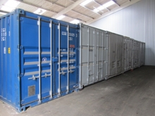 Indoor Steel Storage Containers